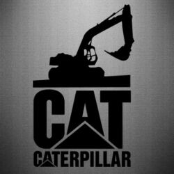Наклейка Caterpillar cat