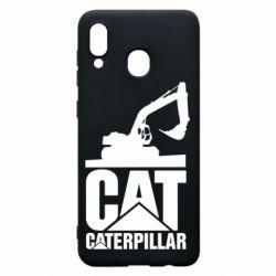 Чохол для Samsung A20 Caterpillar cat