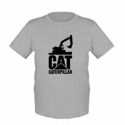 Дитяча футболка Caterpillar cat