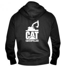 Чоловіча толстовка на блискавці Caterpillar cat