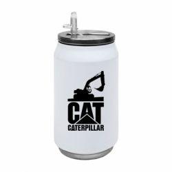 Термобанка 350ml Caterpillar cat