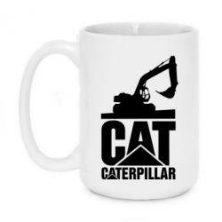 Кружка 420ml Caterpillar cat