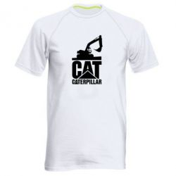 Чоловіча спортивна футболка Caterpillar cat