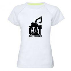 Жіноча спортивна футболка Caterpillar cat
