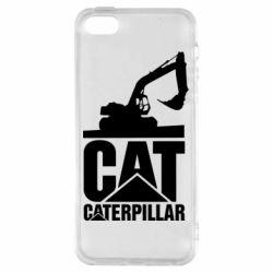 Чохол для iphone 5/5S/SE Caterpillar cat