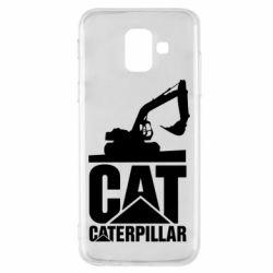 Чохол для Samsung A6 2018 Caterpillar cat
