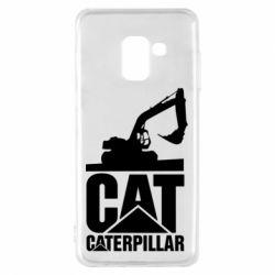 Чохол для Samsung A8 2018 Caterpillar cat