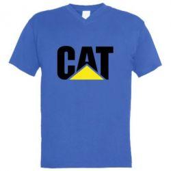 Чоловіча футболка з V-подібним вирізом Caterpillar