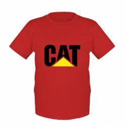 Дитяча футболка Caterpillar