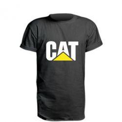 Подовжена футболка Caterpillar