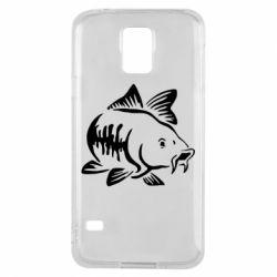 Чохол для Samsung S5 Catfish