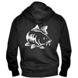 Чоловіча толстовка на блискавці Catfish