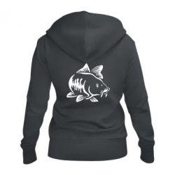 Жіноча толстовка на блискавці Catfish