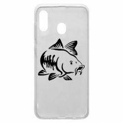 Чохол для Samsung A20 Catfish