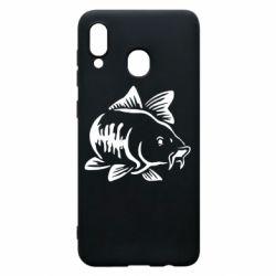 Чохол для Samsung A30 Catfish
