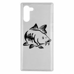 Чохол для Samsung Note 10 Catfish