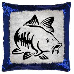 Подушка-хамелеон Catfish