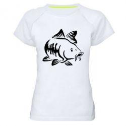 Жіноча спортивна футболка Catfish