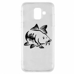 Чохол для Samsung A6 2018 Catfish