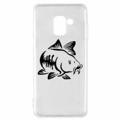 Чохол для Samsung A8 2018 Catfish