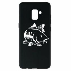 Чохол для Samsung A8+ 2018 Catfish