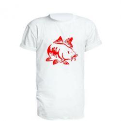 Подовжена футболка Catfish