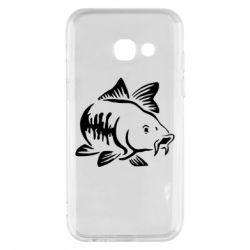 Чохол для Samsung A3 2017 Catfish