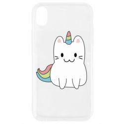 Чехол для iPhone XR Caticorn