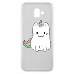 Чехол для Samsung J6 Plus 2018 Caticorn