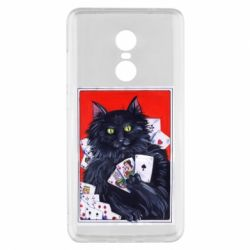 Чохол для Xiaomi Redmi Note 4x Cats and gambling cards