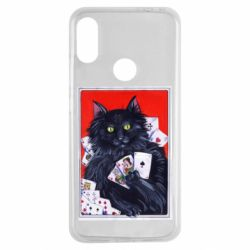Чохол для Xiaomi Redmi Note 7 Cats and gambling cards