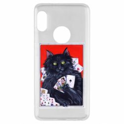 Чохол для Xiaomi Redmi Note 5 Cats and gambling cards