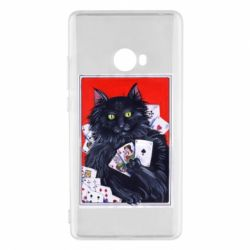 Чохол для Xiaomi Mi Note 2 Cats and gambling cards