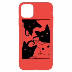 Чехол для iPhone 11 Pro Max Cats are watching