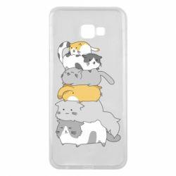 Чохол для Samsung J4 Plus 2018 Cats