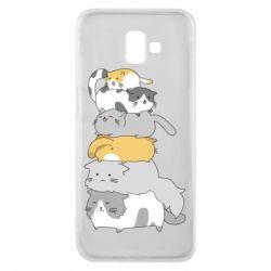 Чохол для Samsung J6 Plus 2018 Cats