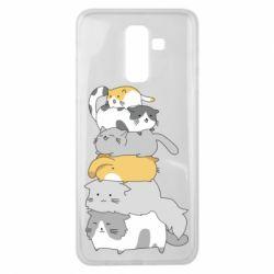 Чохол для Samsung J8 2018 Cats