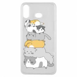 Чохол для Samsung A6s Cats