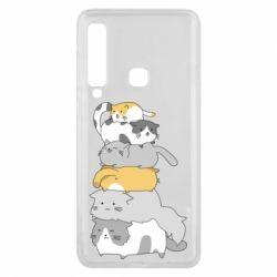 Чохол для Samsung A9 2018 Cats