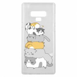 Чохол для Samsung Note 9 Cats