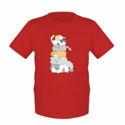 Дитяча футболка Cats