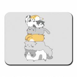 Килимок для миші Cats