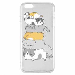 Чохол для iPhone 6 Plus/6S Plus Cats