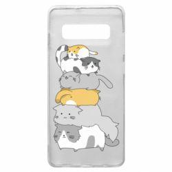 Чохол для Samsung S10+ Cats