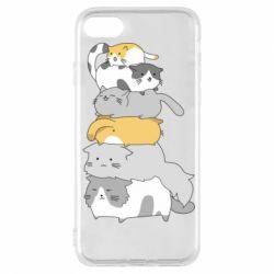 Чохол для iPhone 7 Cats