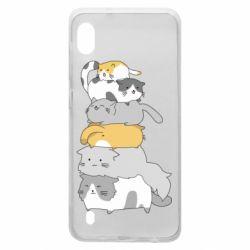 Чохол для Samsung A10 Cats