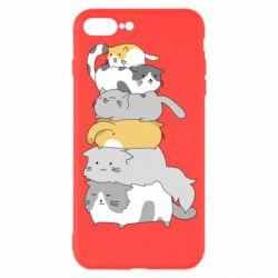 Чохол для iPhone 7 Plus Cats