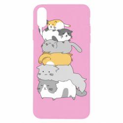 Чохол для iPhone X/Xs Cats