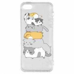 Чохол для iphone 5/5S/SE Cats