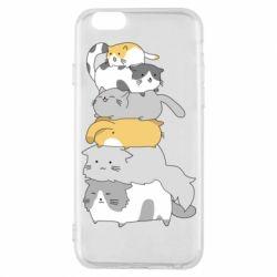 Чохол для iPhone 6/6S Cats